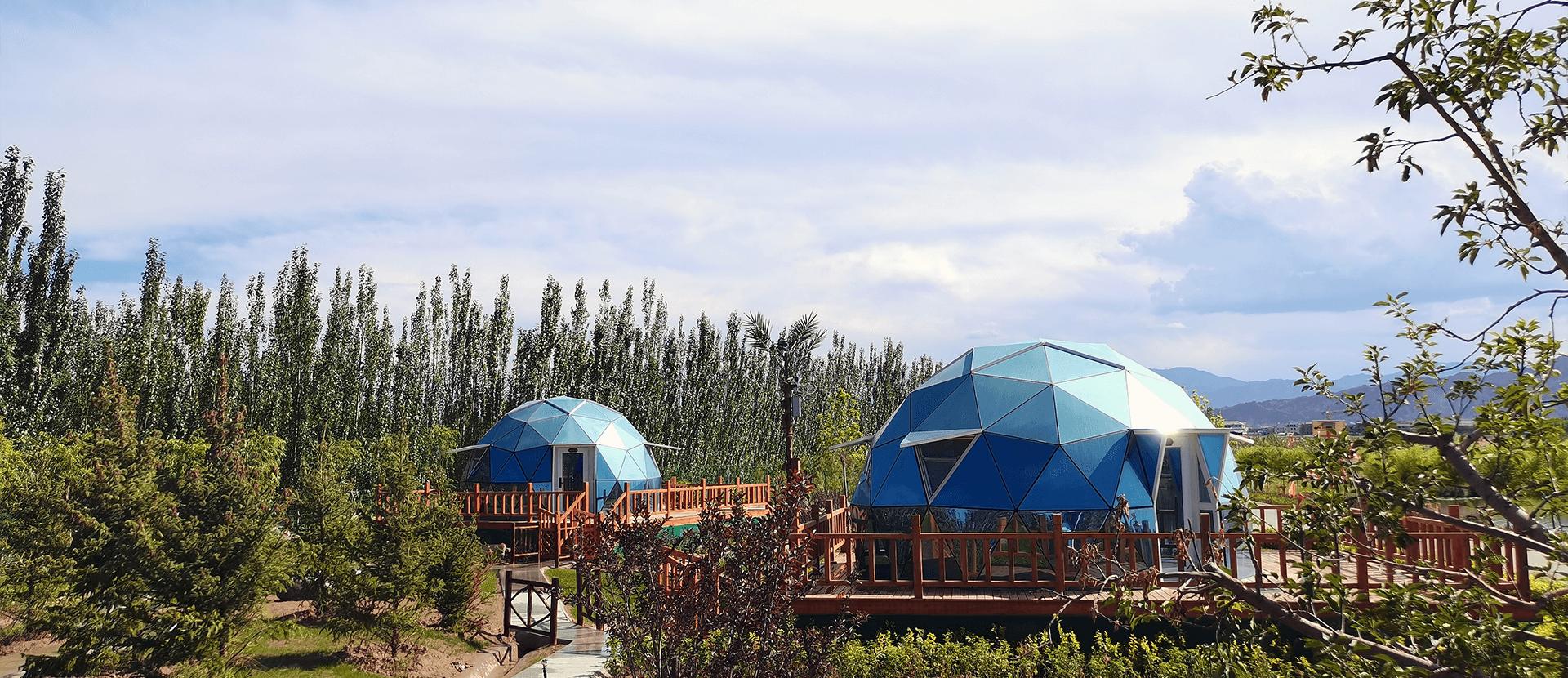 glass dome igloo