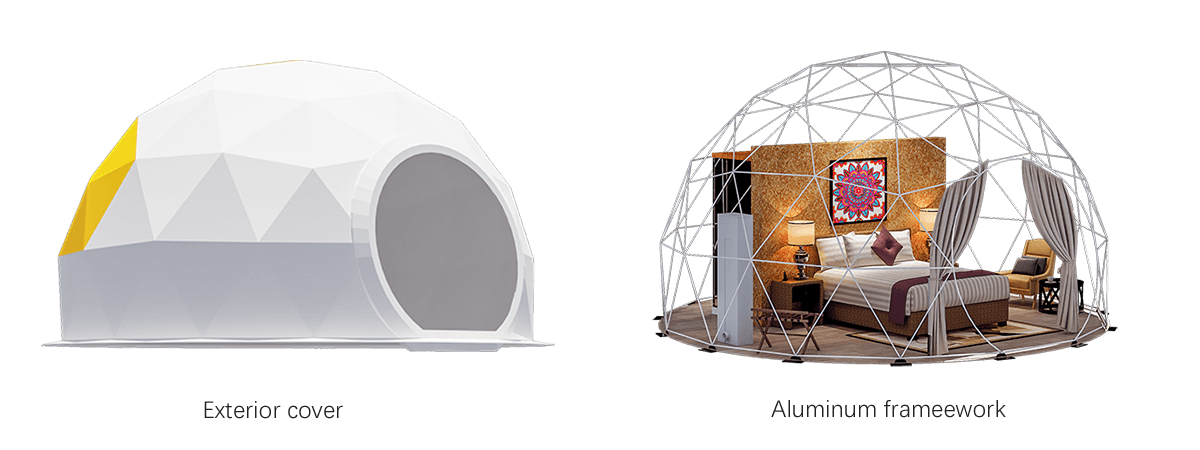 Geodesic Dome Tent Frame
