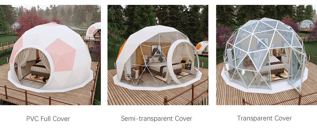 Glamping Dome Tent Roof Cover