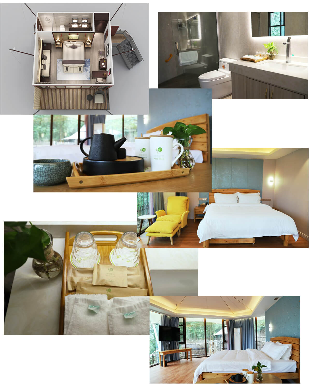 Multi-Peak Luxury Resort Tent