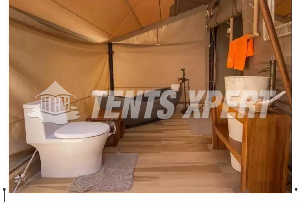 Bamboo Park Luxury House Tent Project