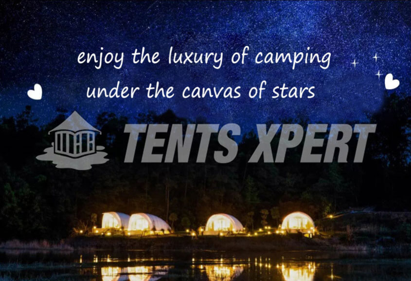 A High Standard Glamping Hotel Resort Village