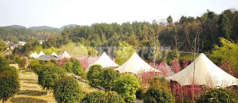 New Luxury Tented Camp on the Island of Peach Blossom