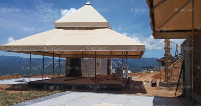 Aman resort tent