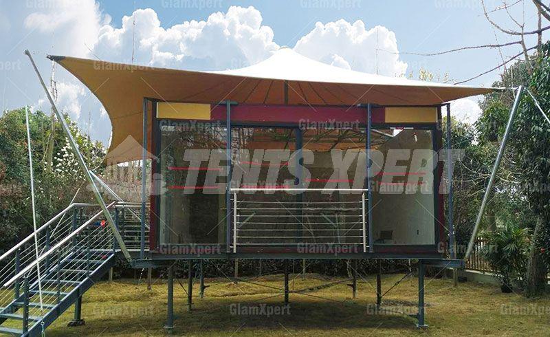 tension membrane tent