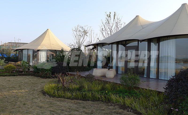 Large Luxury Glamping Tent
