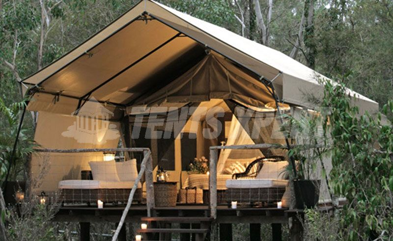 Lodge Glamping Tent