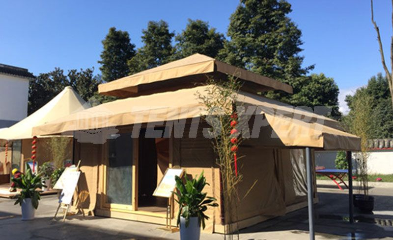 luxury aman tent