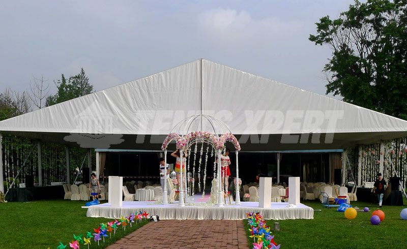 clear span wedding tents