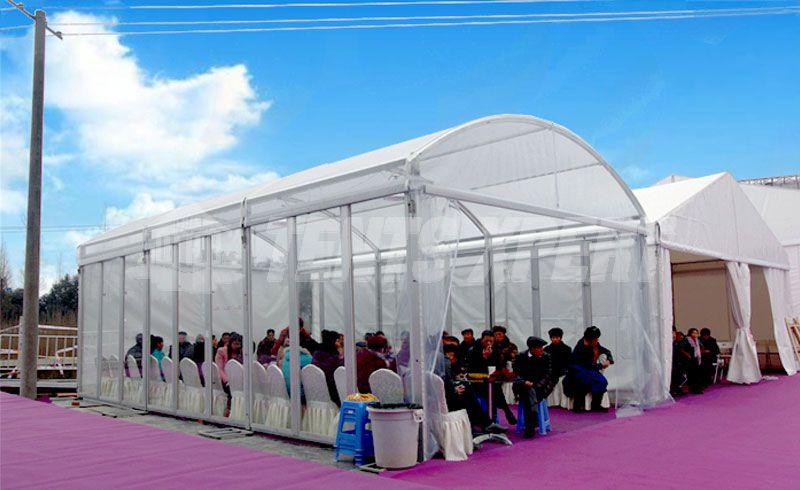 clear span arcum tent