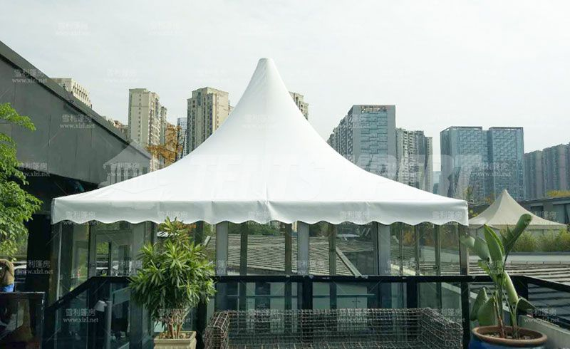Event Tent for Sale - Aluminum Structure Pagoda Tent