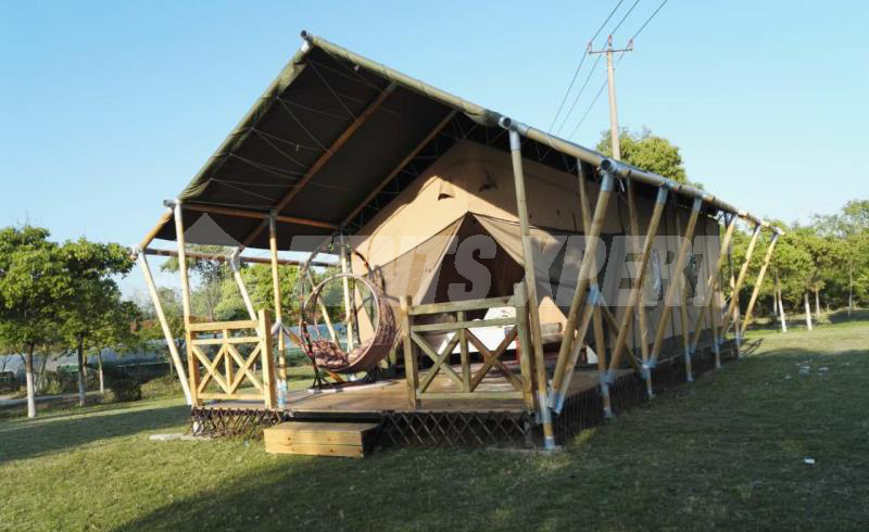 Luxury African Safari Tent L for Sale