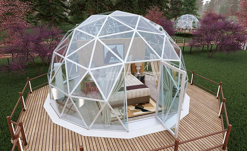 Luxury Geodesic Dome Glamping Tent