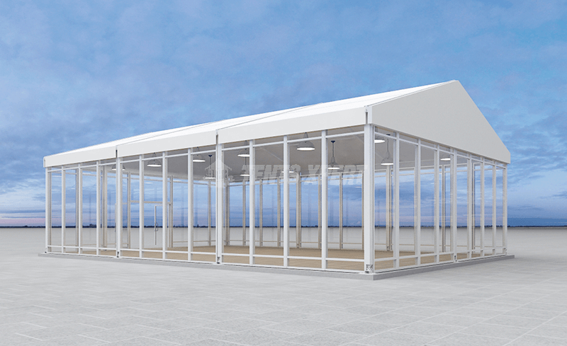 large clear span tents