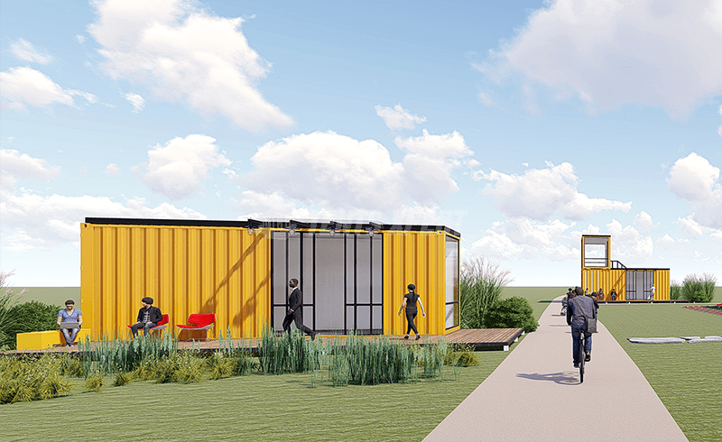 2 shipping container homes