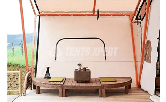large safari tent