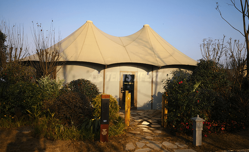 glamping tent for backyard