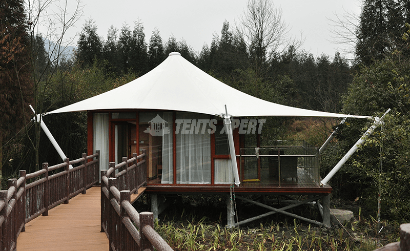Semi-permanent Tent Structures for Glamping