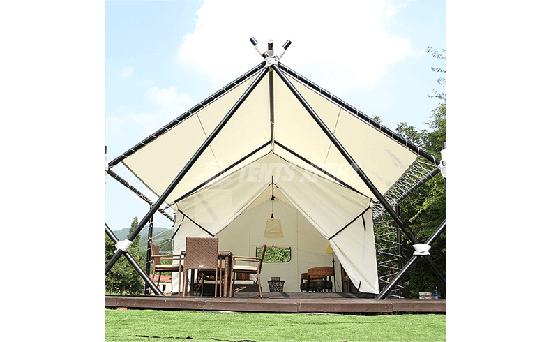 canvas safari tent