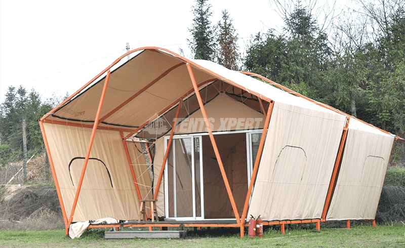 Safari Style Tent KJ for Glamping