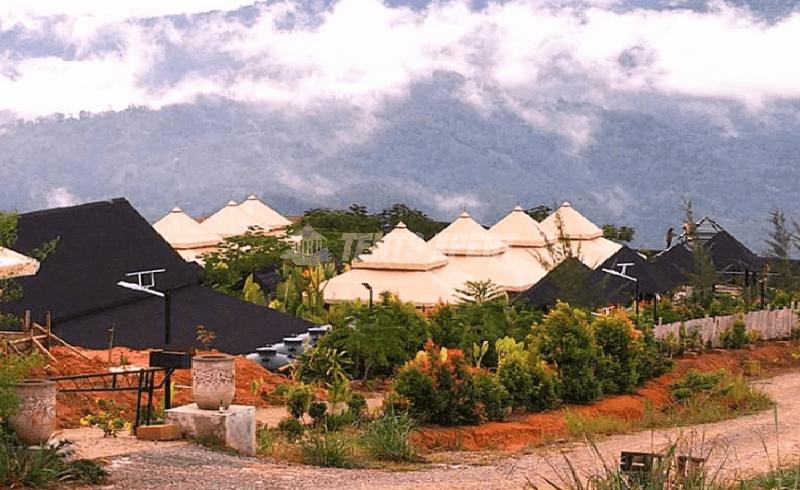 resort aman tent