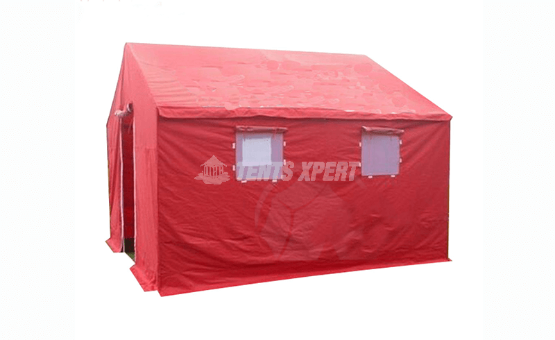 Disaster relief tents for emergency