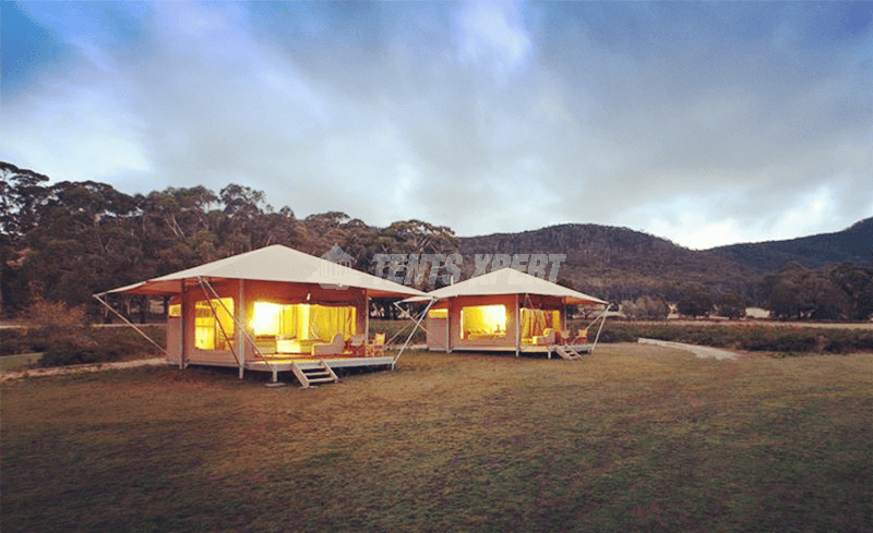 glamping eco tent