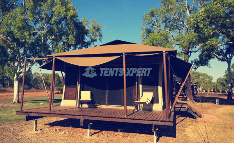 large luxury tent