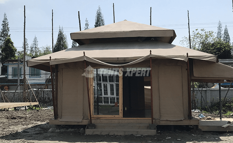 New Aman Resort Tent for Glamping