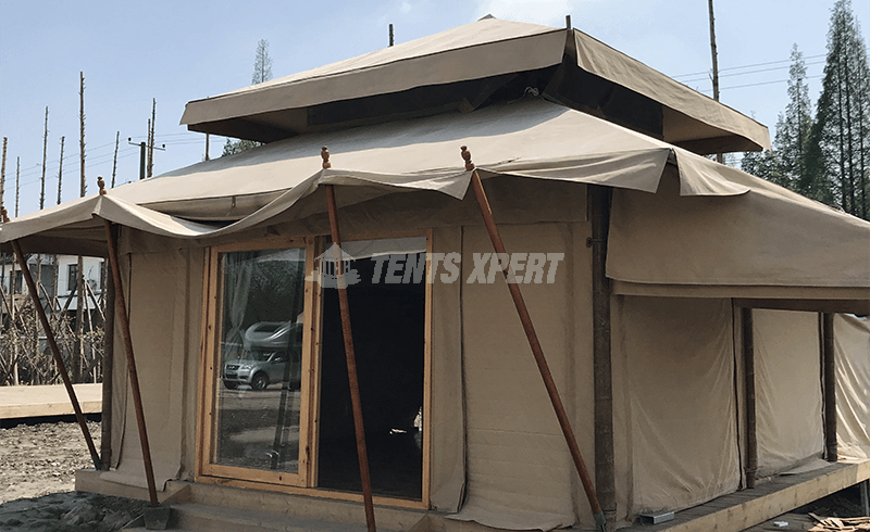 glamping new aman tent
