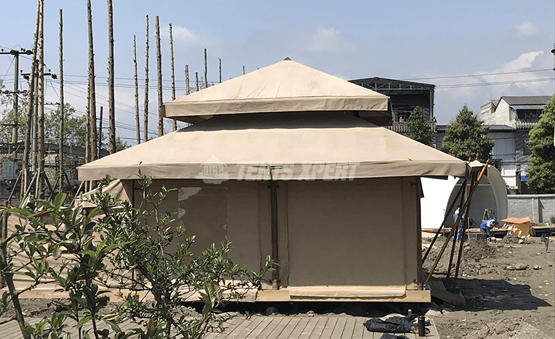Glamping Canvas Tent - New Aman Tent
