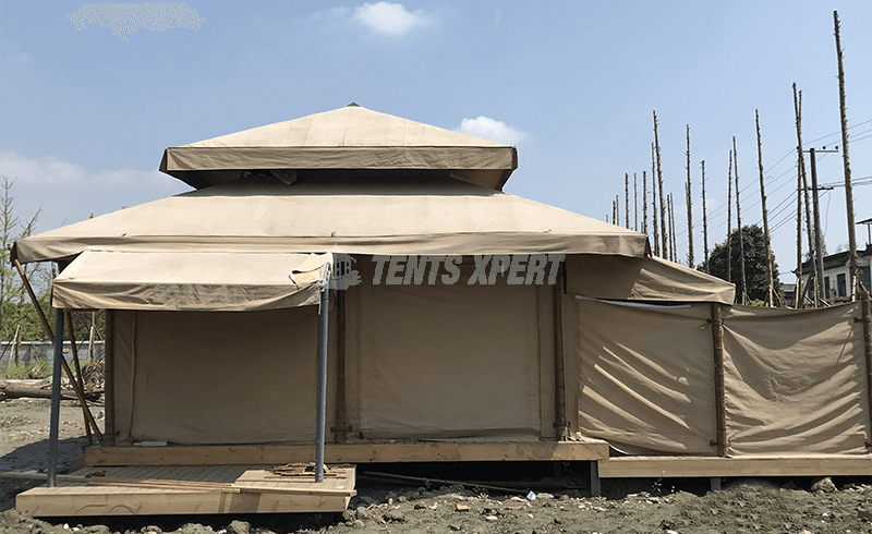 new aman tent for glamping