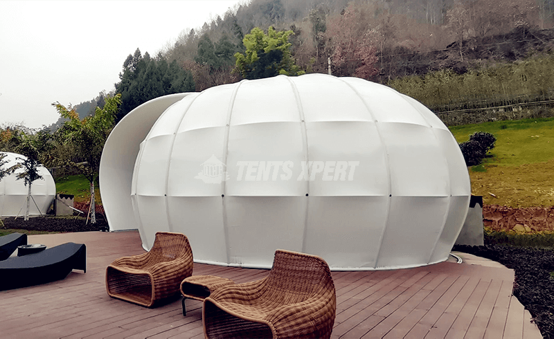 luxury tent for glamping site