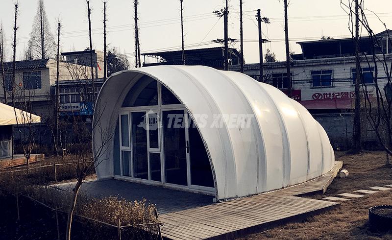 Platform Tent - Semi-permanent Cocoon Tent