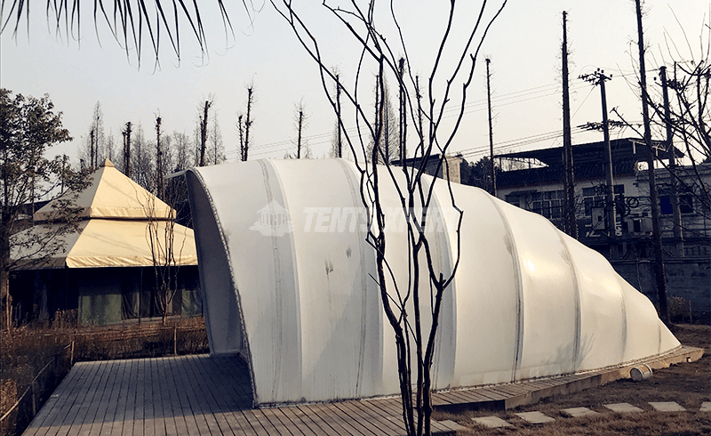 cocoon tent house