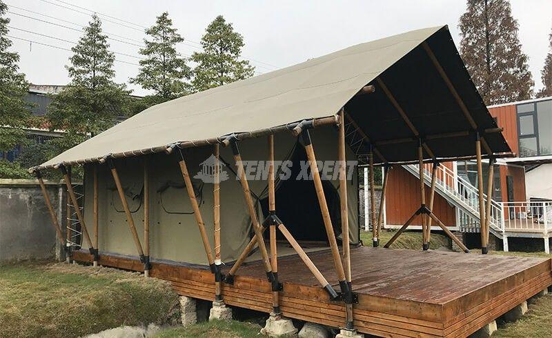 Platform Tent - African Safari Tent L