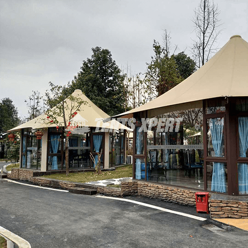 luxury Resort Lodge tents
