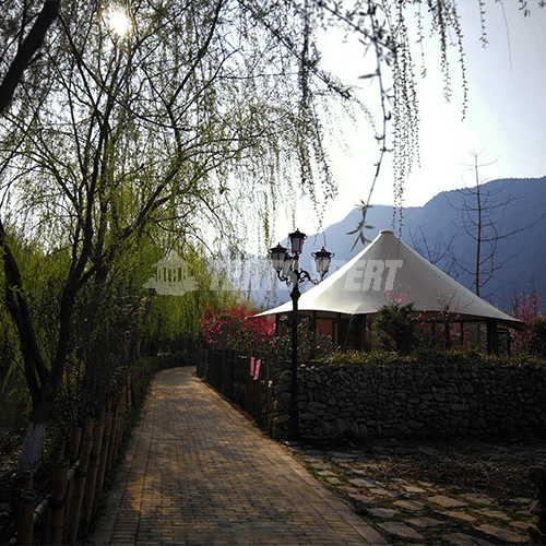 2 man camping luxury Resort Lodge tent