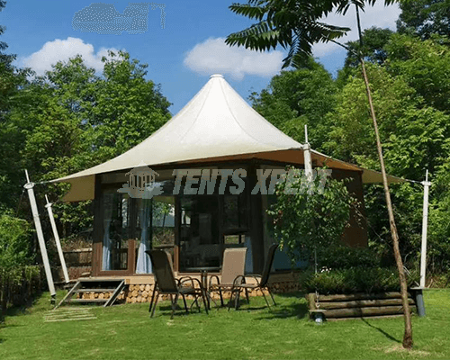 Permanent Glamping Tent for sale