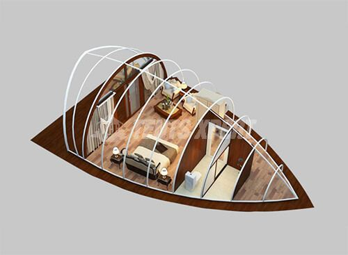 cocoon glamping tent