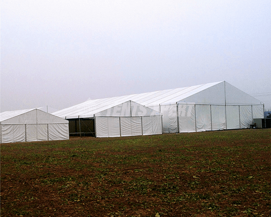 A-frame Tent for storage warehouse