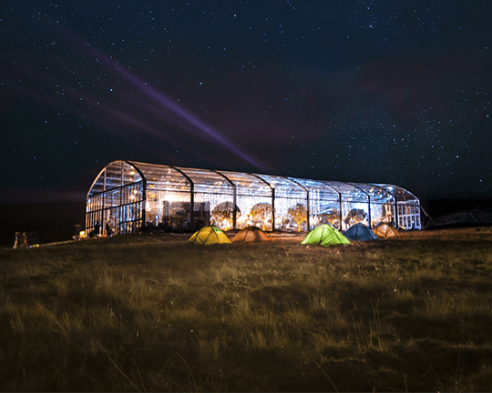 Music festival Arcum Tent