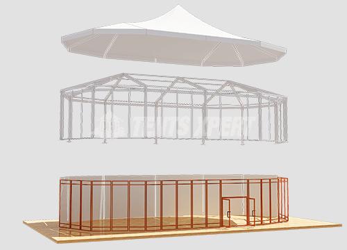 marquee Tent aluminum framework