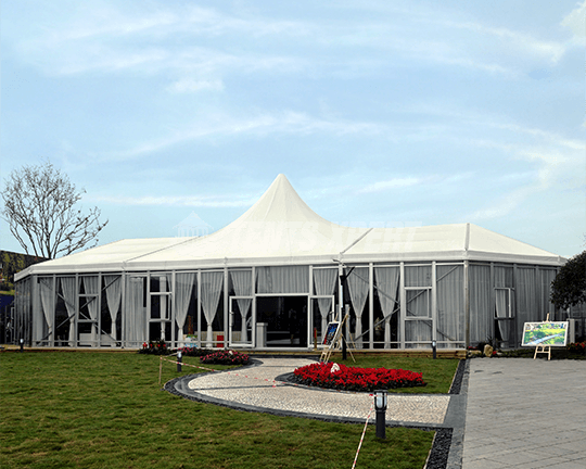marquee High Peak Tent for wedding