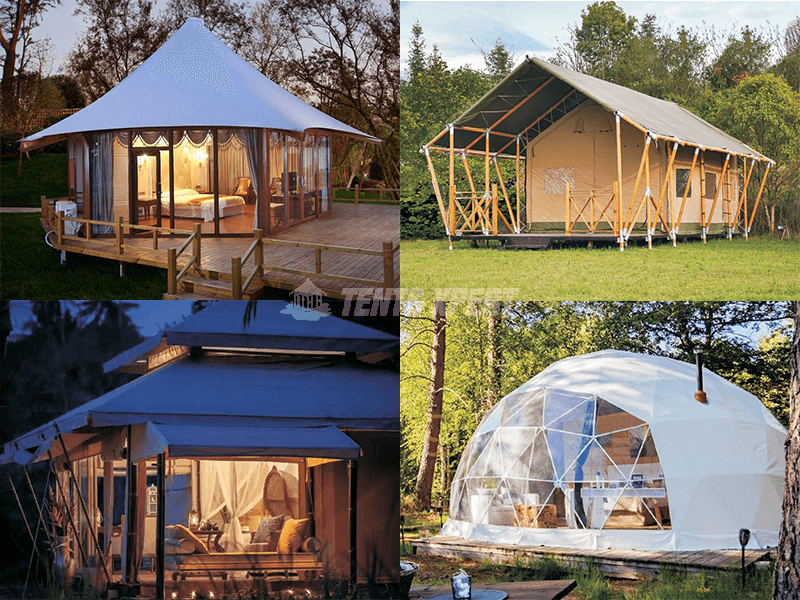 luxury tent styles