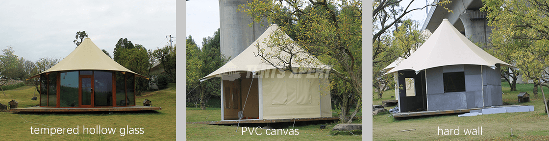 Hexagonal Luxury Lodge Tent for Sale