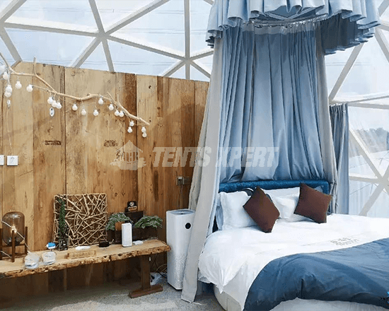 glamping dome tent inner