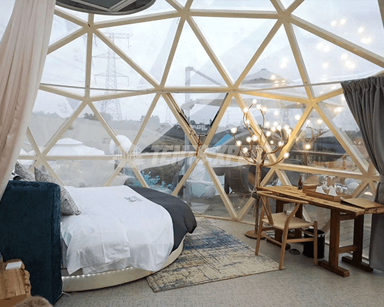 Luxury Geodesic Dome Tent for Glamping