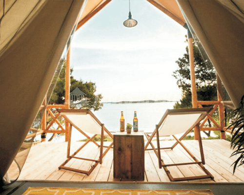 Luxury African Safari Tent L for Glamping
