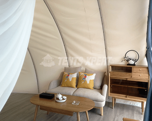 cocoon tent interior furniture